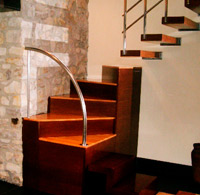 Custom staircase. Private house. Gijón.