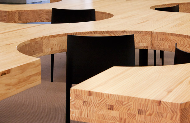 Custom table. University of Oviedo. Asturias.